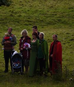 Druids at Avebury